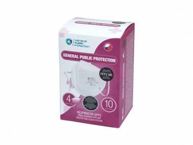 5 ks respirátorů General Public FFP2/FFP3 s certifikací