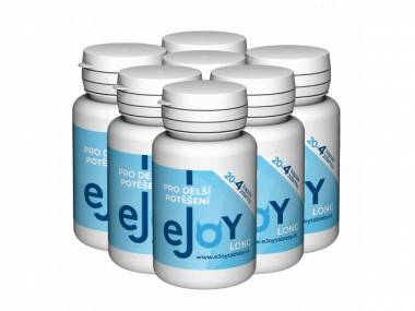 eJoy® LONG 7 balení - 168 tablet