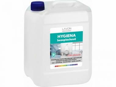 Lavon bezoplachová hygiena dezinfekce 5 litrů (180 Kč/litr)