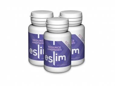 eSlim® 3 balení - 180 tablet