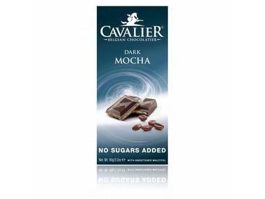 Cavalier Čokoláda DARK MOCHA (slazená maltitolem) 90 g