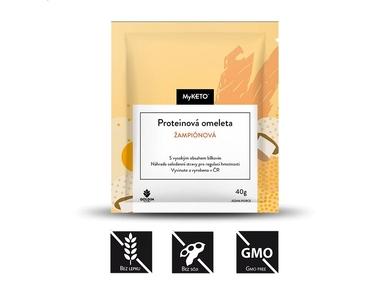 MyKETO Proteinová omeleta žampionová, 1x40 g