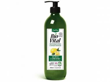 Detoxikační kondicionér s citrónon BioVital DeBa 400 ml