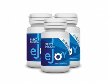 eJoy® 3 balení - 72 tablet