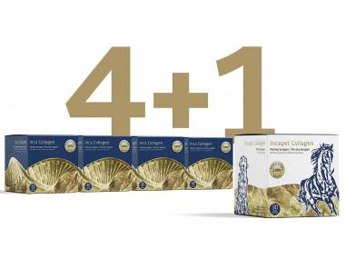 Výhodný balíček Inca Collagen 4+1 zdarma
