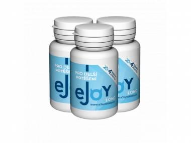 eJoy® LONG 3 balení - 72 tablet