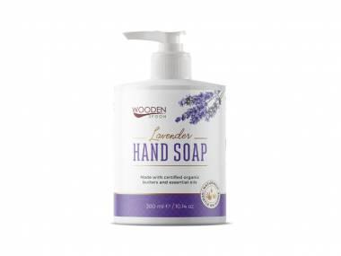Tekuté mýdlo Levandule WoodenSpoon 300 ml
