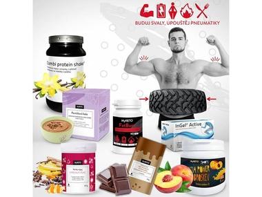 MyKETO Výhodný balíček s proteiny a minerály Buduj svaly, upouštěj pneumatiky