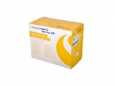 Sterilní chirurgické latexové rukavice Sempermed Derma PF, velikost 6 až 9 bílé 100 ks bez pudru Rozměr: 7,5