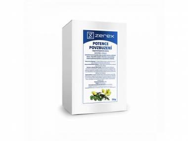 Zerex Bylinný čaj Potence a Povzbuzení 50 g