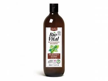 Revitalizační šampon s eukalyptem BioVital DeBa 400 ml