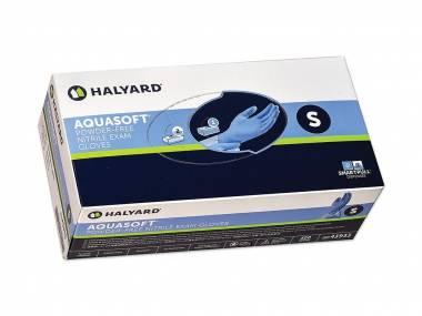 Jednorázové nitrilové rukavice Halyard, Vel.S, modré, 200ks