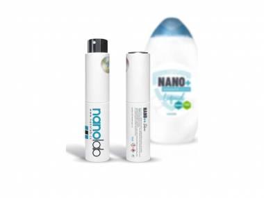 Nanolab Cestovní dezinfekční sprej do kapsy + náhradní náplň