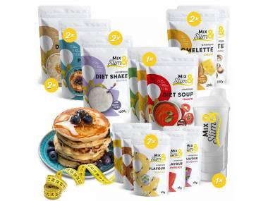 Mix Slim Dieta na 4 týdny - 146 porcí