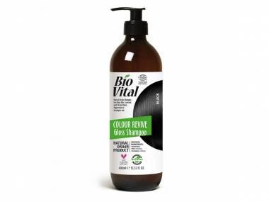 Šampon na černé vlasy Gloss BioVital DeBa 400 ml