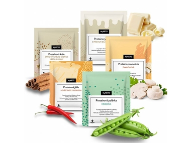 MyKETO proteinová keto dieta, balíček POKRAČOVACÍ II. fáze, 14 dnů, 40 jídel