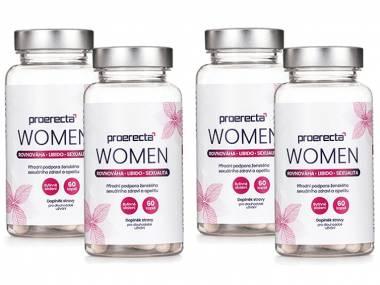 Proerecta WOMEN 4 balení 120 tobolek