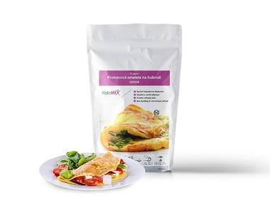 KetoMix Proteinová omeleta 320 g (10 porcí) - se sýrovou příchutí