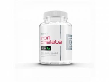 Zerex Železo chelát + Vitamín C 60 tablet