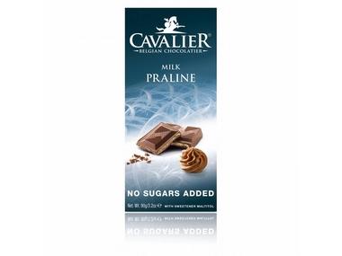 Cavalier Čokoláda MILK PRALINE (slazená maltitolem) 90 g