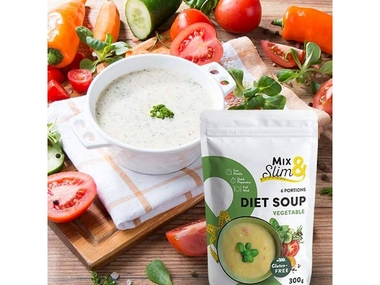 Mix Slim Dietní polévka zeleninová - 6 porcí