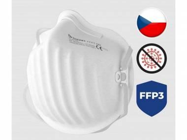 Nano respirátor BreaSAFE CLASSIC FFP3 Pardam 3ks
