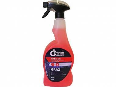 Červinka Professional Cleaner GRAZ čisticí prostředek na umývárenské a sanitární plochy 750ml