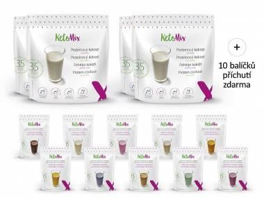 KetoMix Proteinový koktejl na 4 týdny