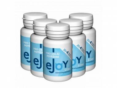 eJoy® LONG 5 balení - 120 tablet