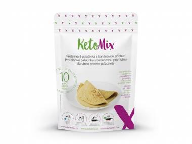 KetoMix Proteinová palačinka s banánovou příchutí (10 porcí)