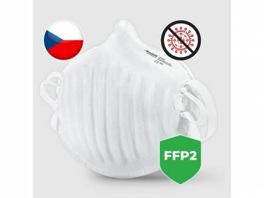 Nano respirátor BreaSAFE ANTI-COVID-19 FFP2 Pardam 3ks