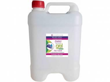 VivaPharm Antibakteriální čistící gel na ruce kanystr 10 l