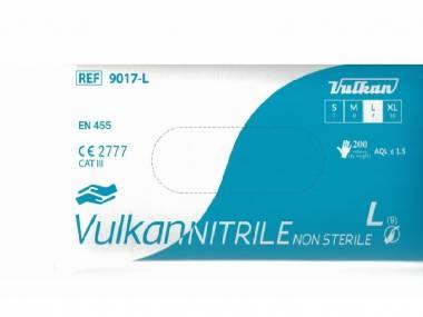 VULKAN - Medical Nitrilové rukavice Vulkan, 200ks fialové Rozměr: XL