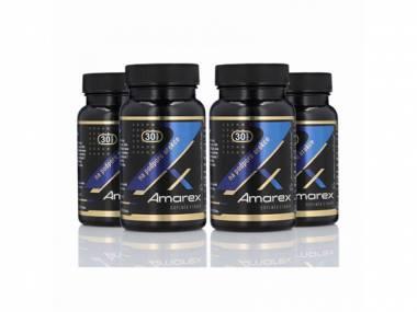 Výhodné 4 balení Amarex 120 kapslí