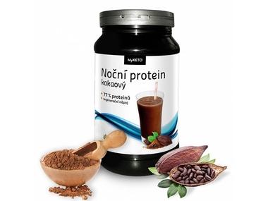 MyKETO MAXI Noční Protein Gym Body kakao 600g