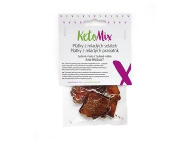 KetoMix Sušené maso – plátky z mladých selátek