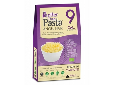 Nah Foods ltd Slim Pasta konjakové Angel Hair BIO - maxi balení