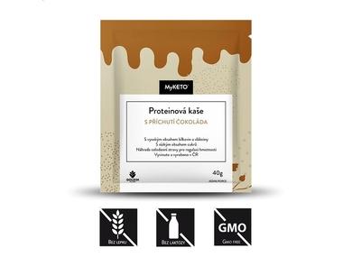 MyKETO Proteinová kaše s příchutí čokoláda, 40 g