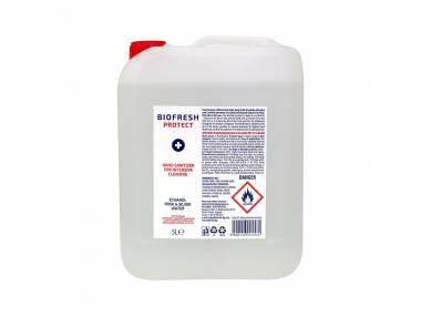 Čistící antibakteriální roztok na ruce Biofresh 5 l