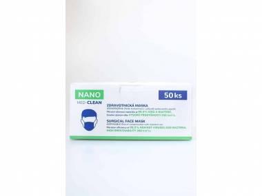NANO MEDICAL Nanovlákenné roušky Nano Med.Clean 50 ks