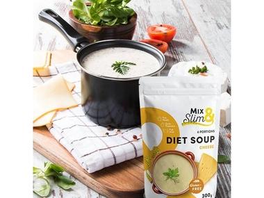 Mix Slim Dietní polévka sýrová - 6 porcí