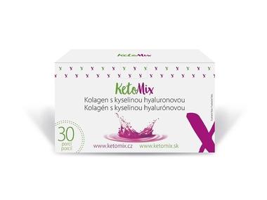 KetoMix kolagen s kyselinou hyaluronovou (30 porcí) 150 g