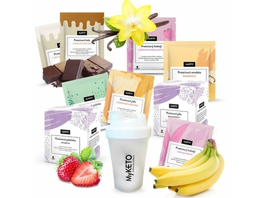 MyKETO proteinová keto dieta MAXI GOLD, výhodný dietní balíček 70 jídel (dieta na 14 dní)