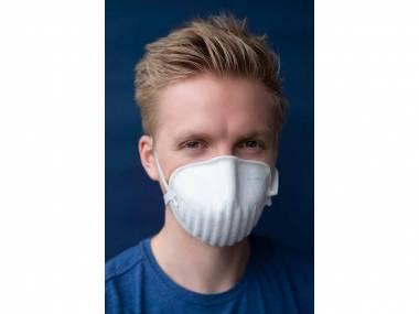 PARDAM - český výrobce respirátorů Nano respirátor BreaSAFE® ANTI-COVID-19 FFP2 Velikost balení: 3 ks