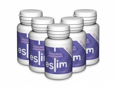 eSlim® 5 balení - 300 tablet
