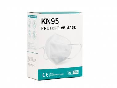 CN KN95 respirátor 3 vrstvý třídy FFP2 - 20 ks