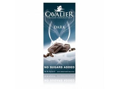 Cavalier Čokoláda DARK (slazená maltitolem) 85 g