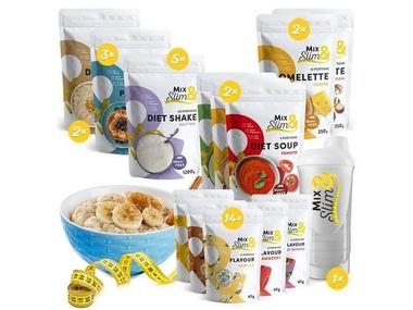 Mix Slim Dieta na 8 týdnů - 282 porcí