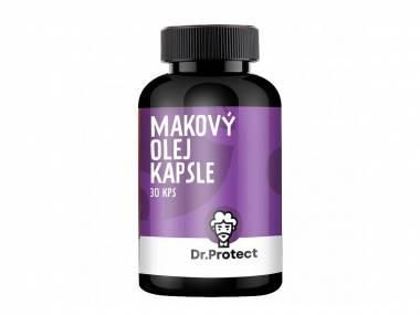 Dr.Protect Makový Olej tobolky 30 kps