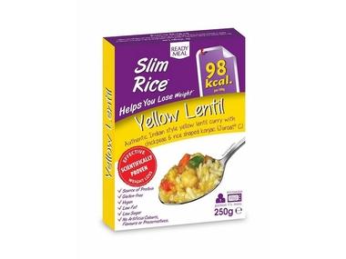 Nah Foods ltd Hotové jídlo s omáčkou na indický způsob - Rice Yellow Lentil
